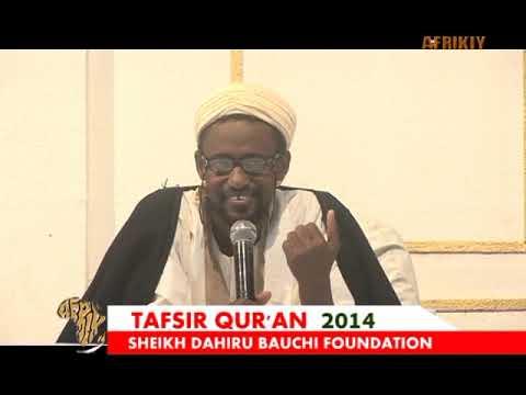 Sayyadi Bashir Shk Dahiru Bauchi Tafsir'14 Day 22nd