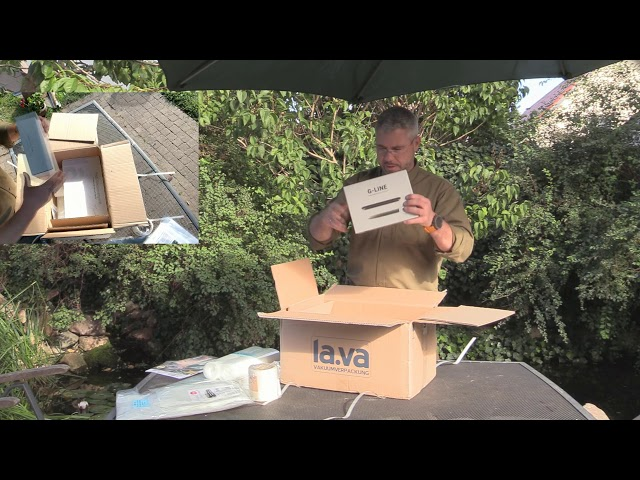 Unboxing Vakuumiergerät Lava V300