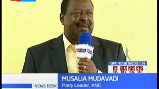 Amani leader Mudavadi unveils strategy to woo Kibra residents in favour of Owalo