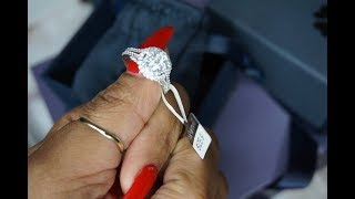 Round Halo Engagement Ring   Hearttell.com