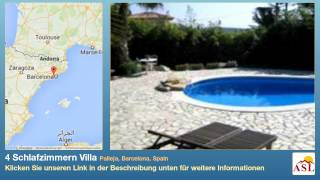 preview picture of video '4 Schlafzimmern Villa zu verkaufen in Palleja, Barcelona, Spain'