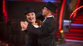 Lisa Riley Foxtrots to 'This Could Be (An Everlasting Love)'- Strictly Come Dancing 2012 - BBC One