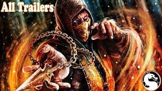 All Mortal Kombat Trailers 1993 to 2015