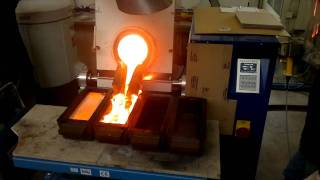 Working with TF12000 Tilting Furnace