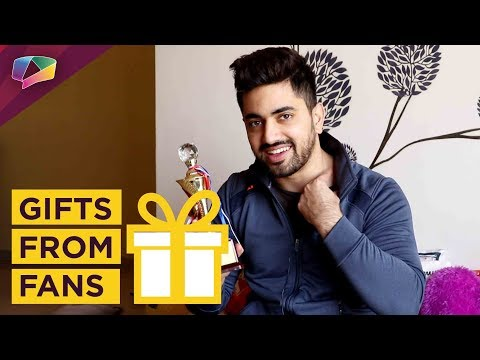 Zain Imam Unwraps Gifts From His Fans