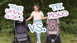 Jogger Kinderwagen Vergleich | TFK vs. Thule | babyartikel.de