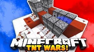 Minecraft RED VS BLUE TNT WARS! (Custom 1v1 Map)   WPrestonPlayz & LandonMC