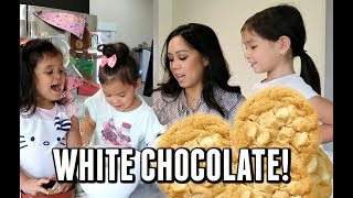 THE MOST DELICIOUS WHITE CHOCOLATE CHIP COOKIES FROM SCRATCH! -  ItsJudysLife Vlogs
