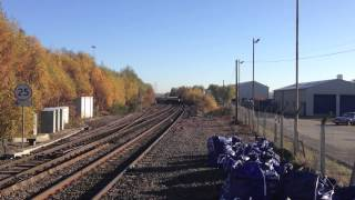 preview picture of video 'XC HST 1V48 XC01 43321/301 Coleshill Parkway 18/11/12'