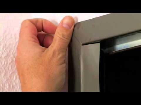 Zargenfolie -Türzargen bekleben statt lackieren - Tür Folien