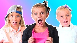 Kids CLOTHES SWAP Challenge!