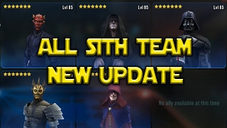 Star Wars: Galaxy Of Heroes - Sith Update ZETA MAUL ZETA SAVAGE Gameplay