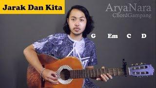 Chord Gampang (Jarak Dan Kita - Dhyo Haw) By Arya Nara (Tutorial Gitar) Untuk Pemula