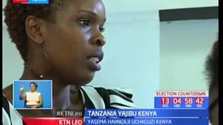 Waziri wa Tanzania Augustine Mahiga azungumzia uchaguzi wa Kenya