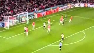 Футбол, Манчестер Юнайтед - Бенфика 2-2