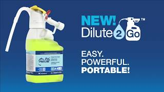 P&G Dilute2Go, Pro Line Finished Floor Cleaner
