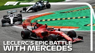 Leclercs Epic Battle With Mercedes: 2019 Italian Grand Prix