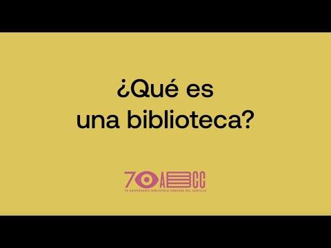¿Qué es una biblioteca?