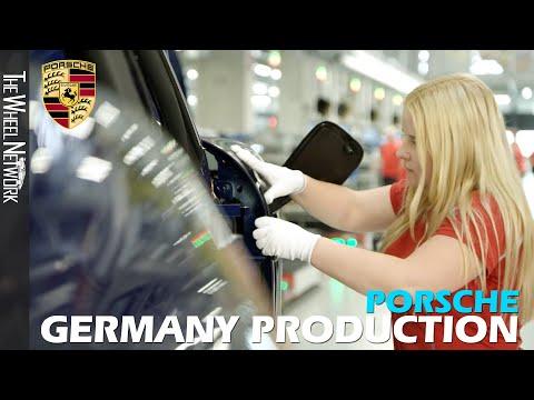 ポルシェはこうして作られていた。ポルシェ製造工場で見るポルシェの製造工程動画