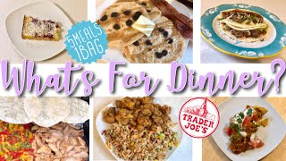 EASY FAMILY DINNER IDEAS | TRADER JOES! | WHAT'S FOR DINNER WEDNESDAY MAY 2019