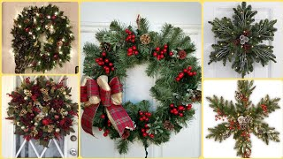 40 DIY Christmas Wreaths-Homemade Holiday Wreath-Wreaths Designs For 2020