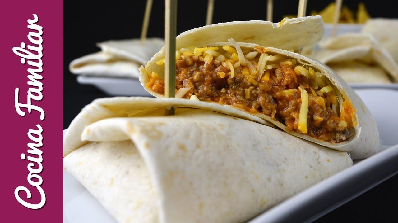 Burritos de carne con chipotle y jalapeño | Javier Romero