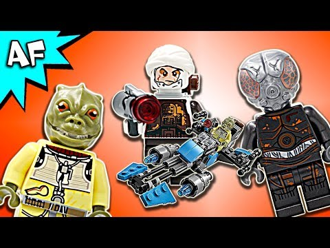 Vidéo LEGO Star Wars 75167 : Pack de combat la moto speeder du Bounty Hunter