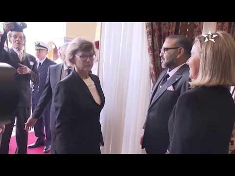 Sa Majesté le Roi Mohammed VI reçoit Federica Mogherini
