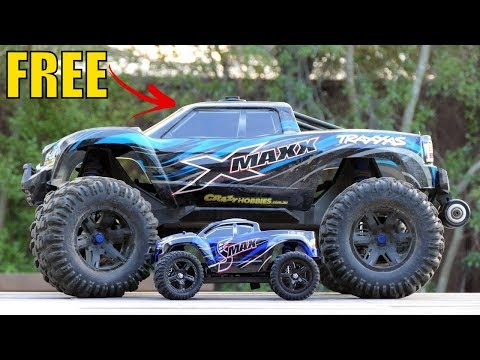 Best RC Car Under 4000rs (60$) | 1:16 4WD RC Brushed Truck - RTR - Unboxing & Testing | Rc Adventure