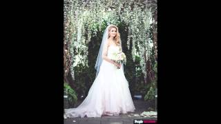 Ice Dancer Tanith Belbin's Wedding Dress Photos All the Exclusive Details on Her Ombré Gown