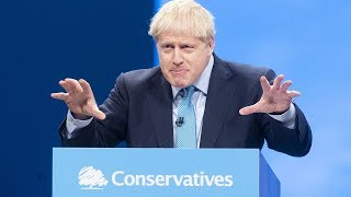 video: Boris Johnson's Tory conference speech: one message to party faithful– let's get Brexit done