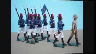 Belgian Congo Force Publique Uniforms