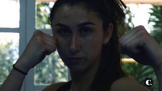 Sabina, la colombiana que combate en la UFC