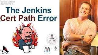 Solve the Jenkins 'unable to find valid certification path' error