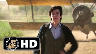 Biplane Escape Scene  THE SPACE BETWEEN US Movie Clip 2017 Carla Gugino SciFi Movie HD