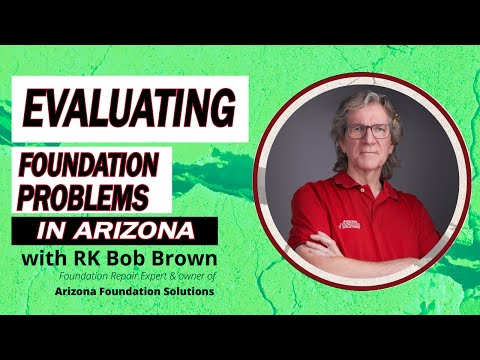 Bob Brown is a certified foundation repair specialist and the owner of Arizona Foundation Solutions, a Phoenix, AZ company specialized in structural damage repair and structural stabilization of all types of residential and commercial foundations. For over 28 years, Bob and his team have helped tens of thousands of area homeowners fix their cracked, settling, bowing, crumbling and damaged foundations.Typically local foundation repair companies, when inspecting a home with foundation issues, will give it a quick visual inspection, take a couple of measurements and tell homeowners how many piers they will need to install.What makes Arizona Foundation Solutions different from the competition is that the company adopts a more objective scientific approach.