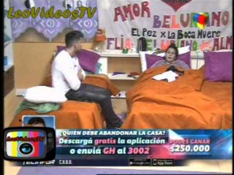 Marian contra Francisco por la expulsion de Brian GH 2015 #GH2015 #GranHermano