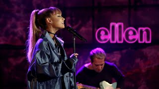 Ariana Grande   Into YouSide To Side (Live On Ellen Show) HD