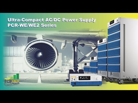 PCR-WE Programmable AC/DC Power Supply