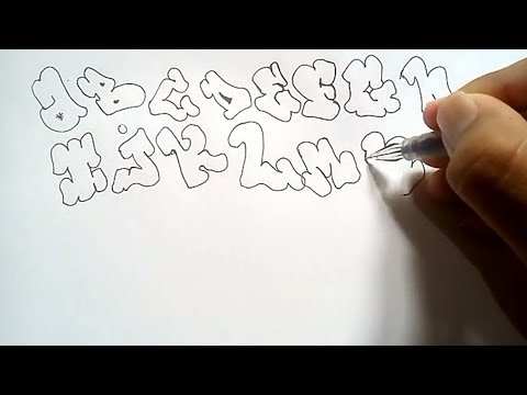 56 Gambar Grafiti Keren Bagi Pemula Terbaik