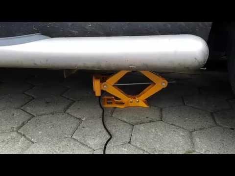 Elektrischer Wagenheber - Test am Chevrolet Captiva