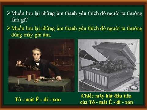 Khoa học 4 Bài 22 Âm thanh trong cuộc sống