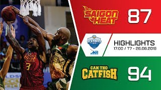 #Highlights VBA 2018 Playoffs 1 || Game 2: Saigon Heat vs Cantho Catfish 26/08