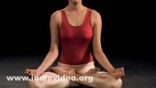 Padmasana (The Lotus pose)