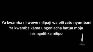 Nandy    Nikumbushe Lyrics
