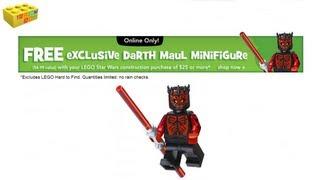 News: Free Lego Shirtless Darth Maul At ToysRUs.com USA