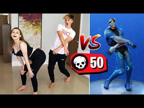 1 KILL = 1 FORTNITE DANCE IN REAL LIFE!! (*NEW* Fortnite Season 4 Challenge)