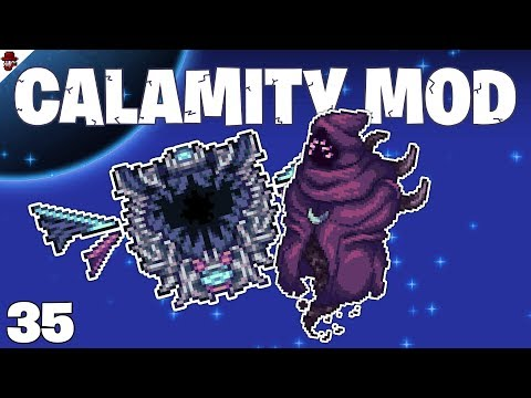 Terraria # 35 SCRAPING BOSSES! - Calamity Mod Let's Play