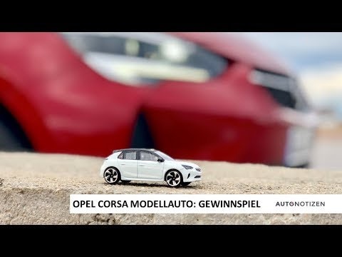 Das AUTONOTIZEN-Gewinnspiel zum neuen Opel Corsa!