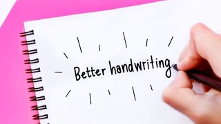How to Improve your Handwriting | For Note-Taking and Journaling